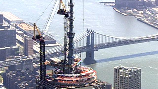 U.s.: Time Lapse: One World Trade Center reaches 1,776 feet