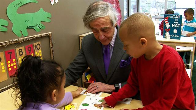 CBS Evening News Extras: Web Extra: Tulsa billionaire backs Pre-K education