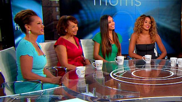 CBS This Morning: Eye-Opening Moms: Vanessa Williams with Mom, daughters