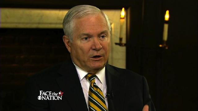 Face The Nation: Gates: