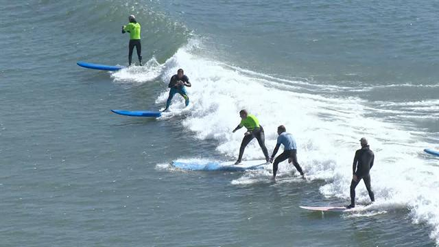 Health: Surfing provides