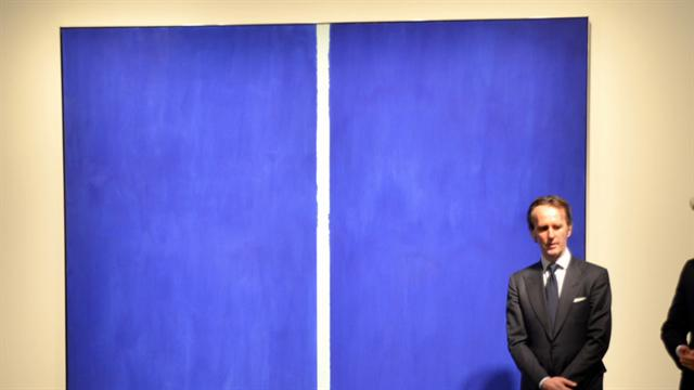 CBS This Morning : Pop Culture: Barnett Newman painting sells for $43.8 million
