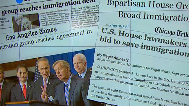 CBS This Morning: Immigration reform: Lawmakers say tentative deal reached