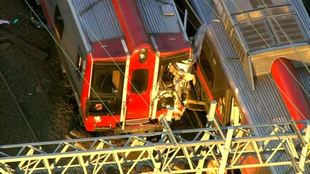 U.s.: Commuter trains collide in Conn., nearly 50 people injured