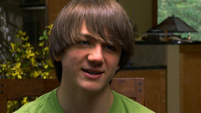 CBS Evening News: Young Innovators: Teen tackles cancer diagnosis