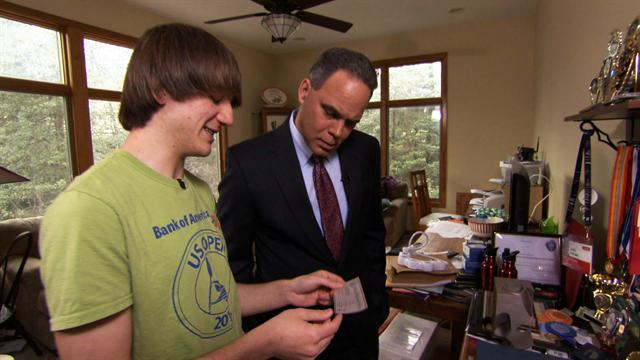 CBS Evening News Extras: Teen cancer diagnosis innovator on his favorite awards