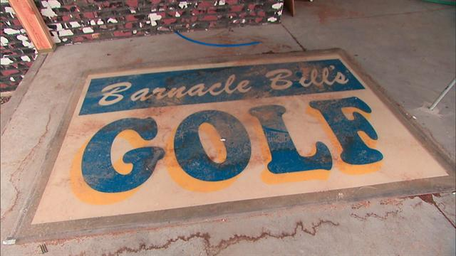 Sunday Morning: Battered mini-golf course gets back on its feet