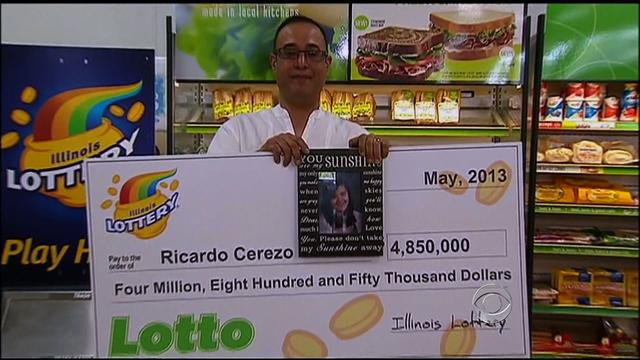 CBS Evening News: Lucky lotto: How a $4.8 million winning ticket saved a family