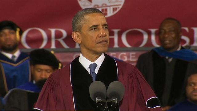 CBS This Morning Politics and Power: Obama urges Morehouse grads to be better men