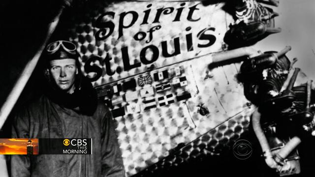 CBS This Morning What's Hot: All That Mattered: Charles Lindbergh takes off