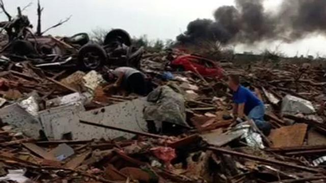 U.s.: Vine video shows devastation from OK tornado
