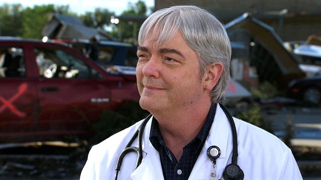 CBS Evening News: Tornado injuries: A doctor's point of view