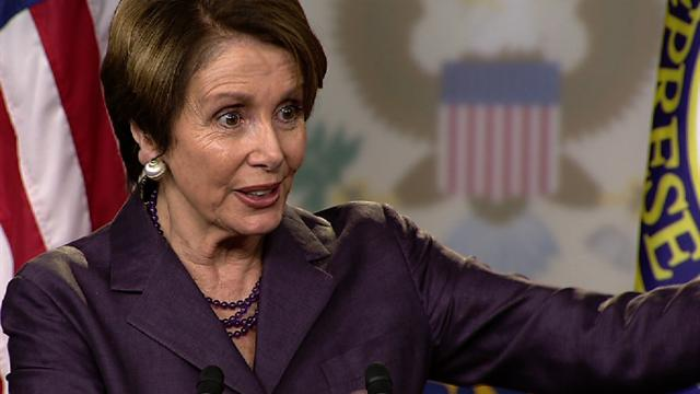 Politics: Pelosi on IRS targeting: