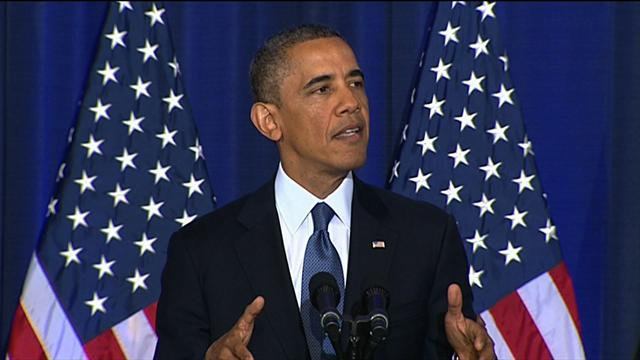 CBS Evening News: President Obama defends drone strikes