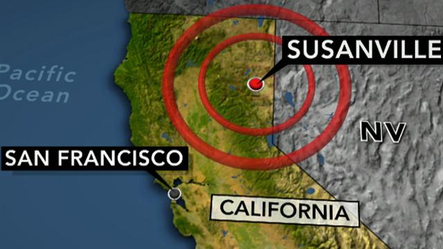 CBS This Morning: Earthquake strikes Northern Calif.