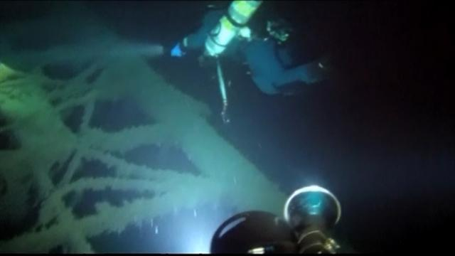 RAW VIDEO: WWII German shipwreck found in Black Sea