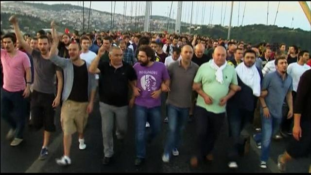 CBS Evening News: Massive protests across Turkey; over 900 arrested