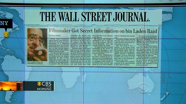 CBS This Morning What's Hot: Headlines: Did Panetta reveal top secret info to