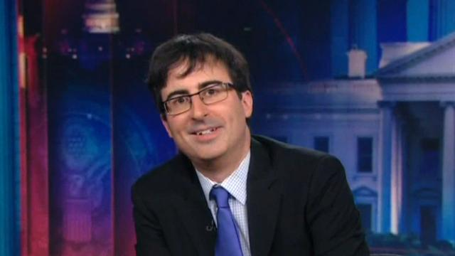 CBS This Morning : Pop Culture: John Oliver interim host of