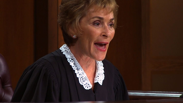 Judge Judy living life to the fullest