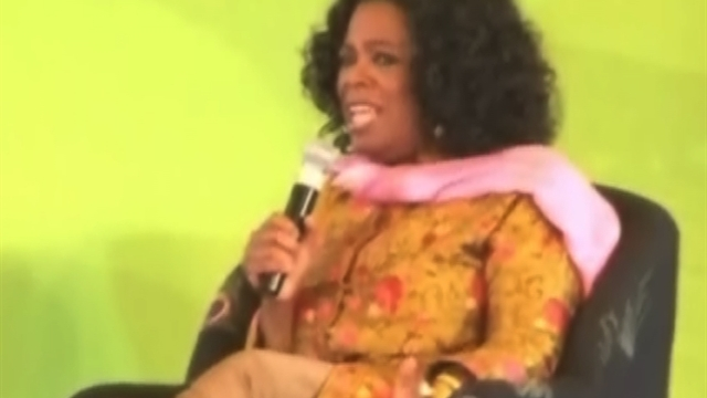 Oprah talks endorsing Obama for second term