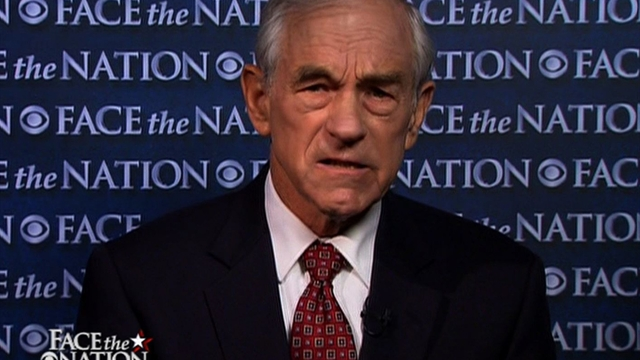 Ron Paul: GOP trying to out-militarize the President