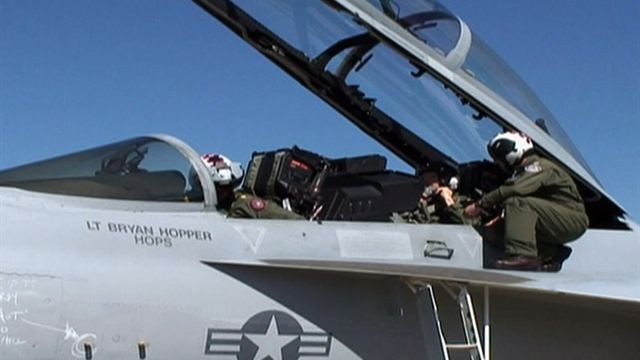 What's it like to fly in an F/A-18?