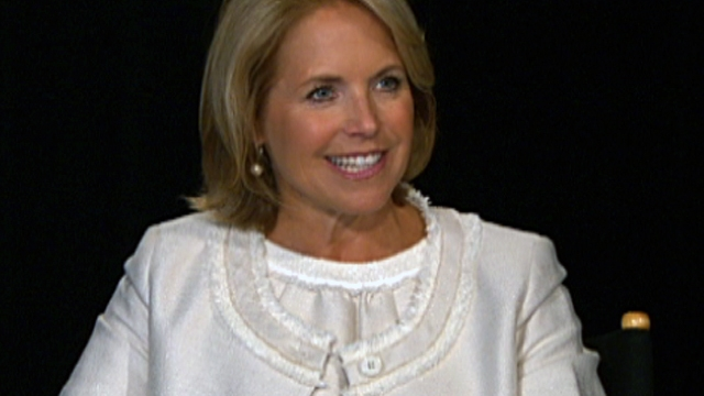 Katie Couric's biggest challenge