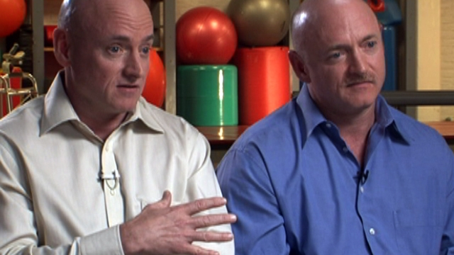 Scott Kelly reacts to Giffords' recovery
