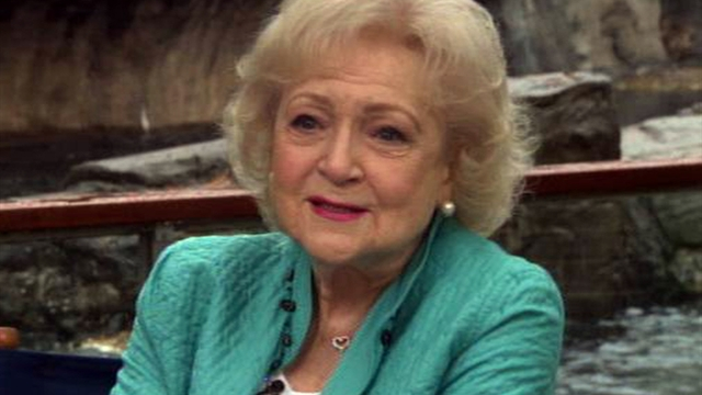 @katiecouric: Betty White