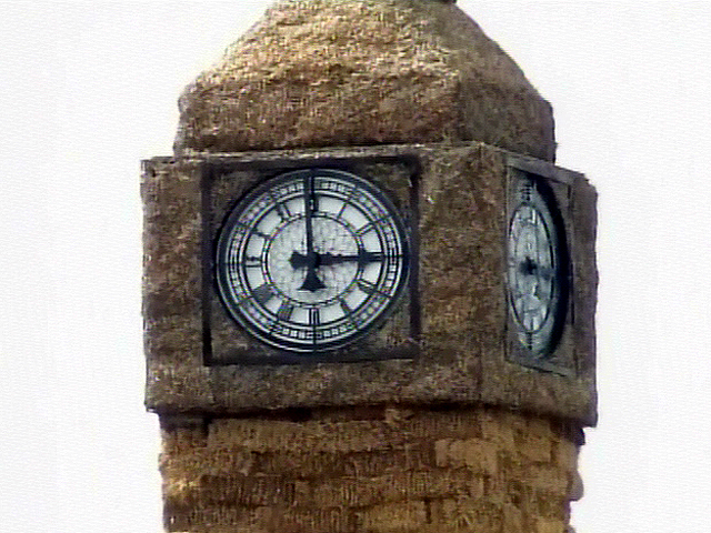 Big Ben...Made From Straw?