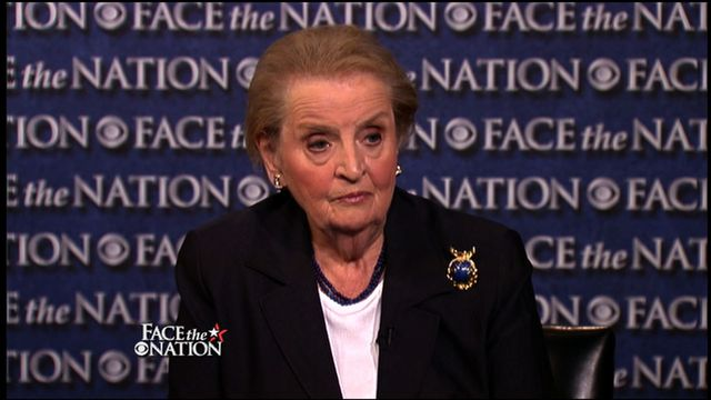 September 15: Albright, Levin, Corker, Palmer