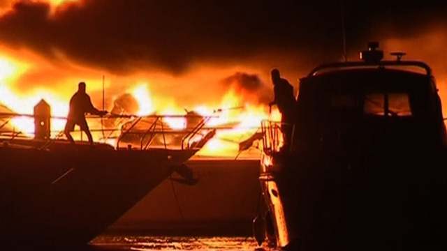 Fire destroys luxury yachts, does more than $4M in damage