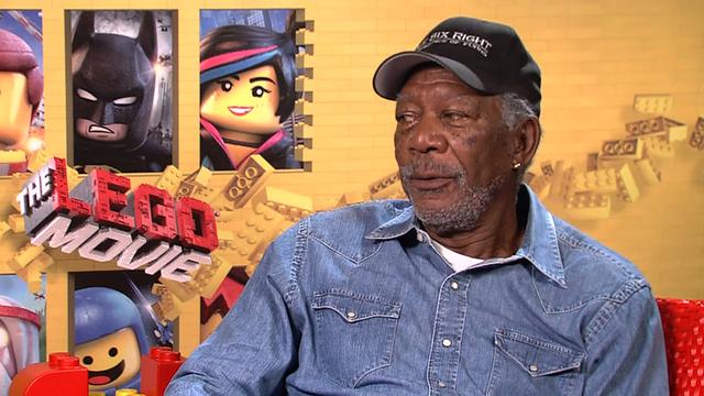 Morgan Freeman on Legos coming to theaters