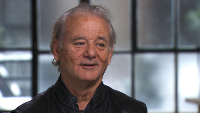 "Bill Murray on celebrated career, ""The Monuments Men"""