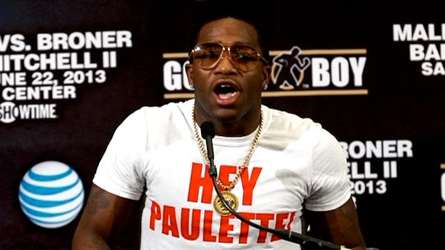 Boxing: Malignaggi and Broner - Press Conference