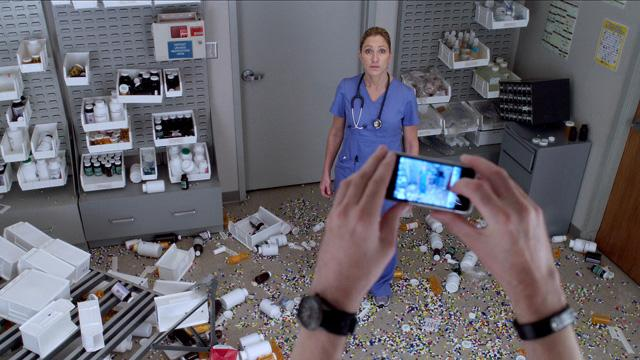 Nurse Jackie: Breaks up the Day