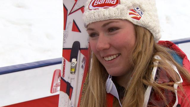 """Gate Crasher"" - Mikaela Shiffrin"