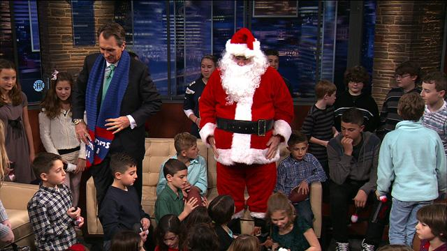 Christmas on the Set of Inside the NFL