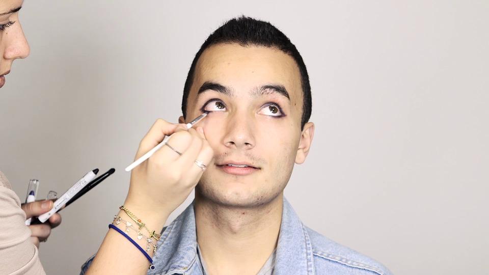 Magnus Bane Inspired Makeup
