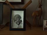 Gandhi gives his grandson The Gift of Anger