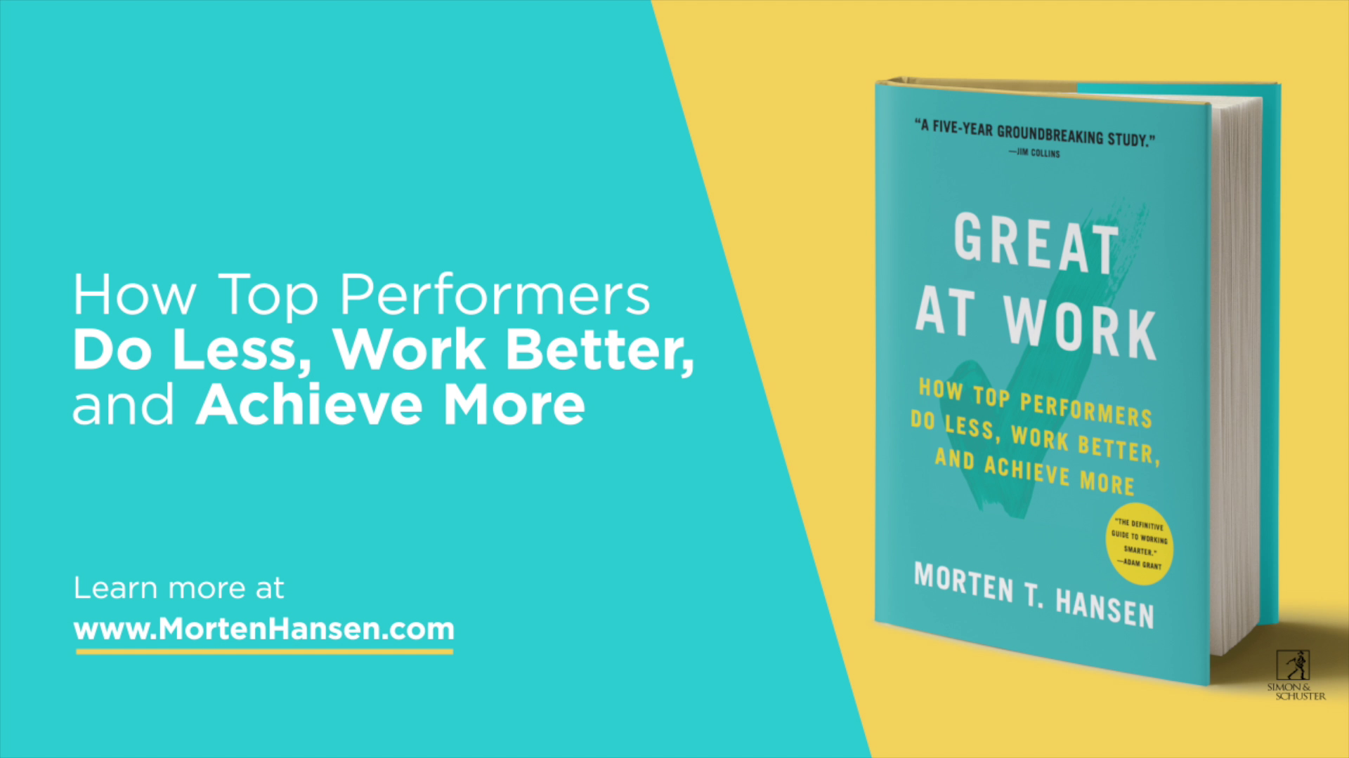 Great at work ebook by morten hansen official publisher page how to master a work life balance fandeluxe Images