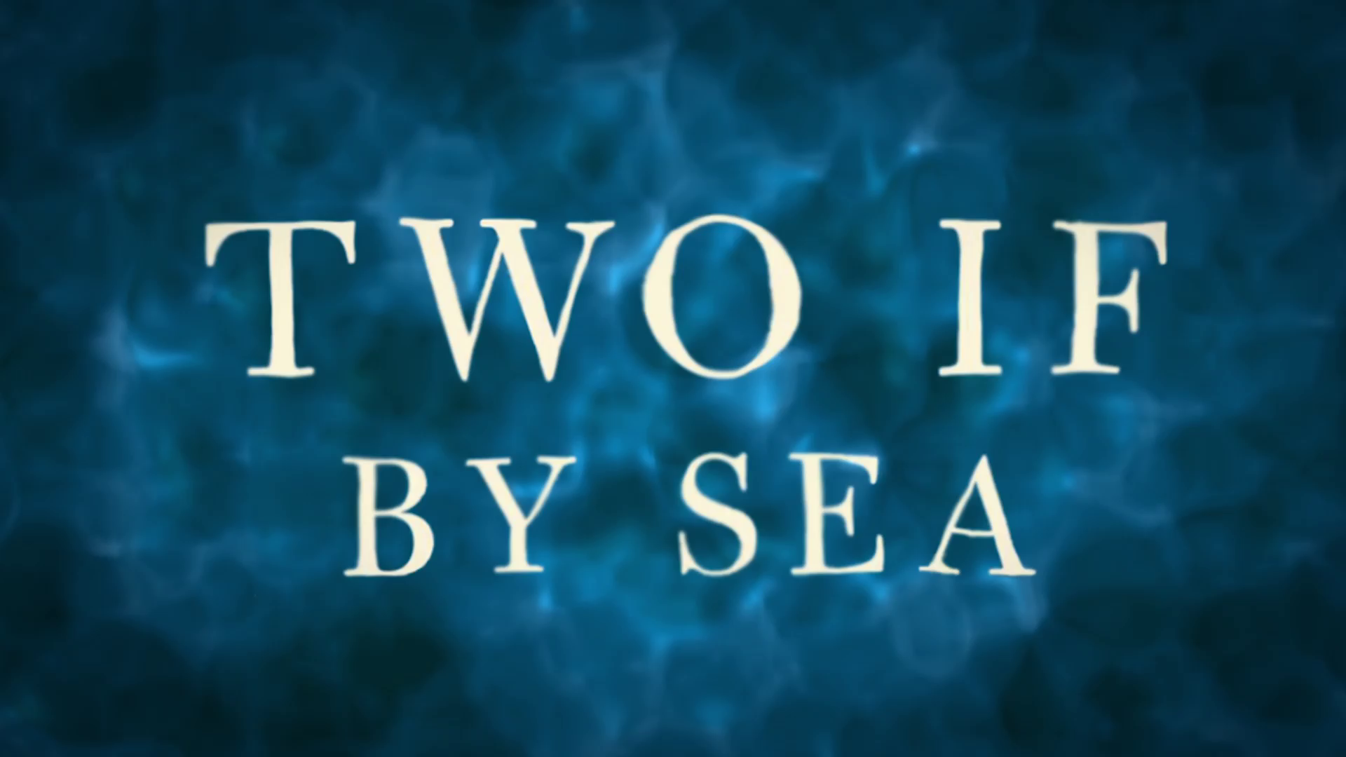 'Two If By Sea' by Jacquelyn Mitchard