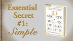 Why SIMPLE Is The Holy Grail Of Successful Salespeople