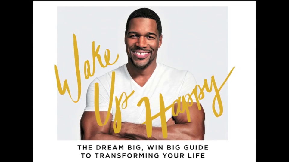 Michael Strahan on his audiobook 'Wake Up Happy'