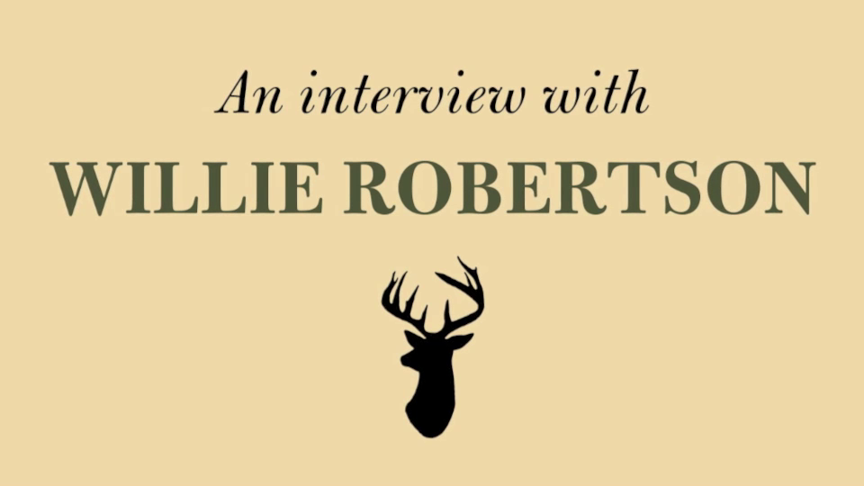 Willie Robertson talks about his audiobook 'American Hunter'
