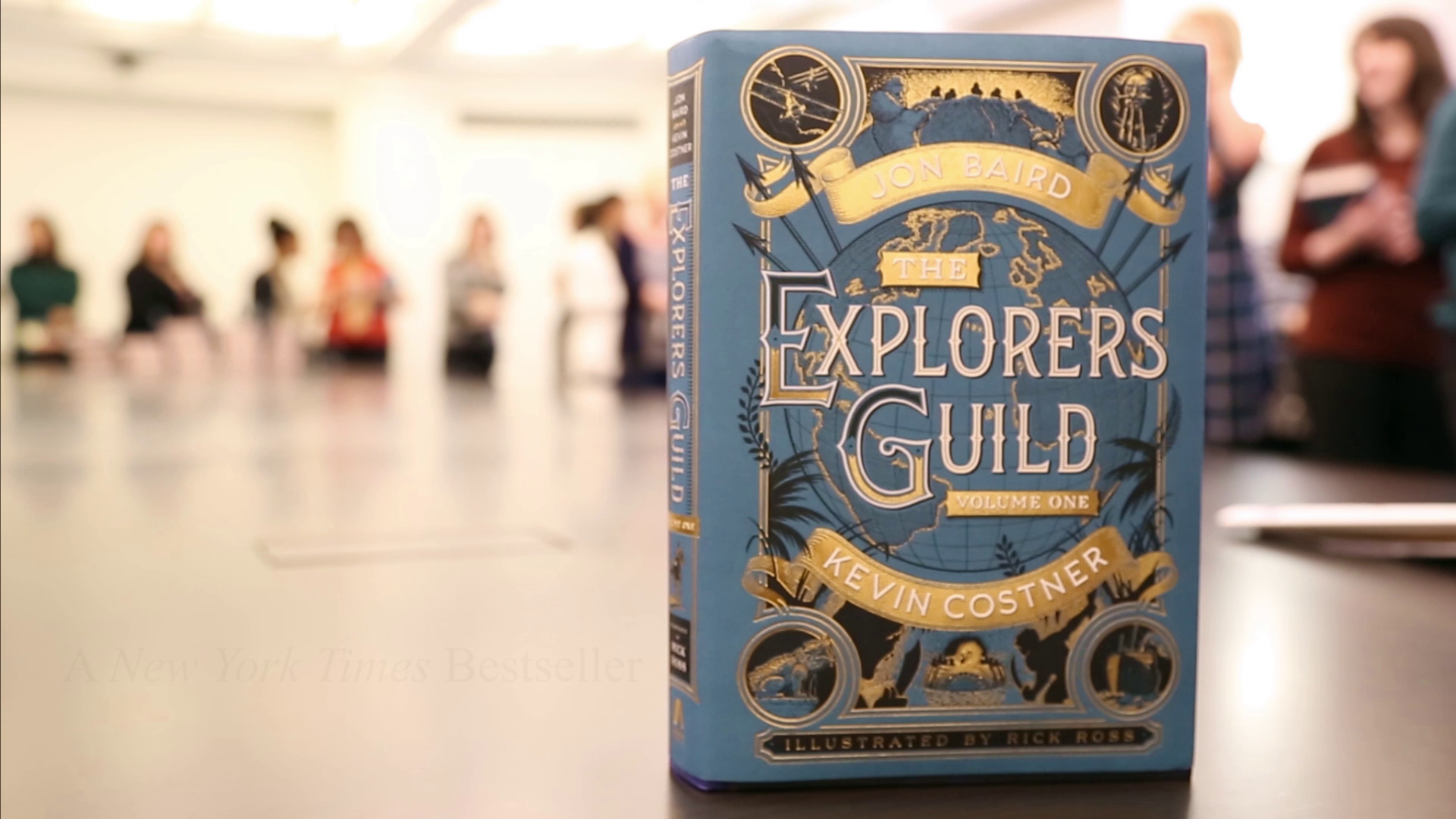 Kevin Costner, Jon Baird, and Rick Ross collaborate on 'The Explorer's Guild'