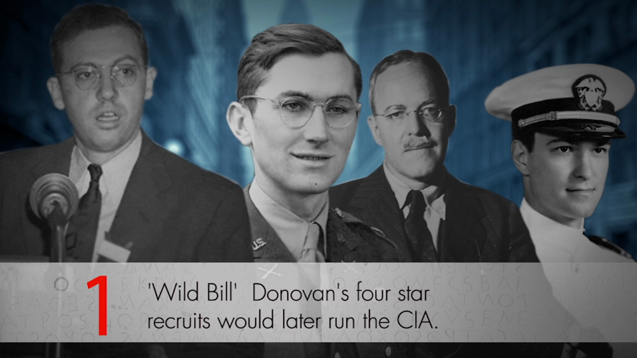 Meet the Spymasters of the OSS