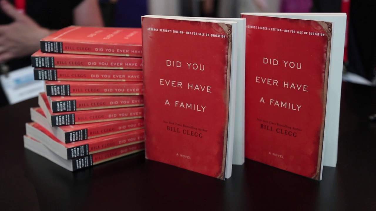 Author Bill Clegg on 'Did You Ever Have a Family'