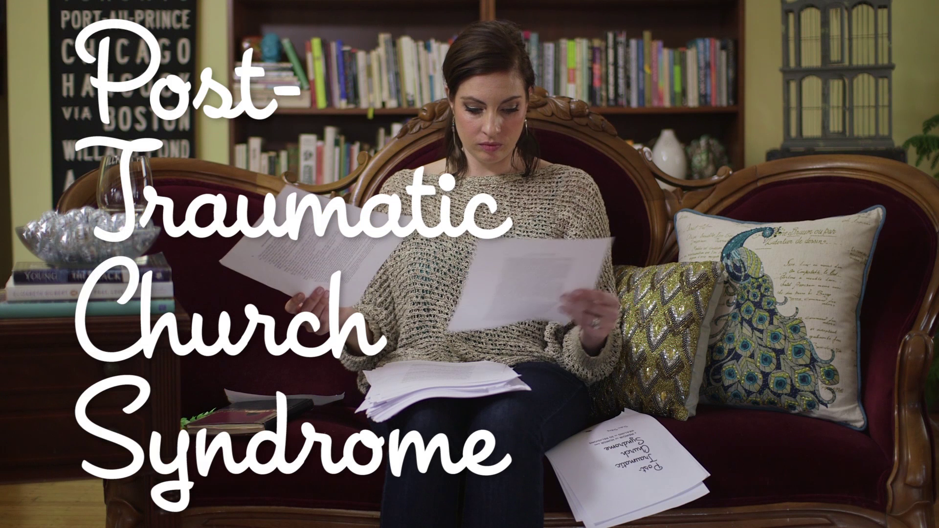Finding Humor in 'Post-Traumatic Church Syndrome'